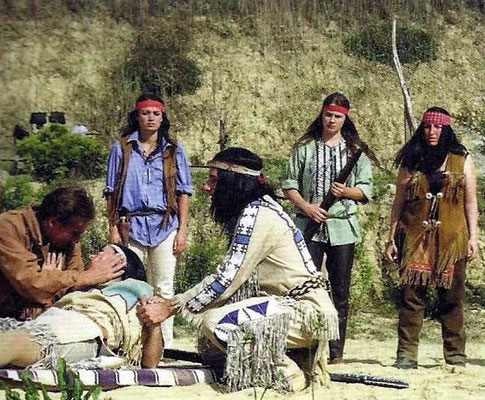 """Winnetou I"" in Burgfrieden"