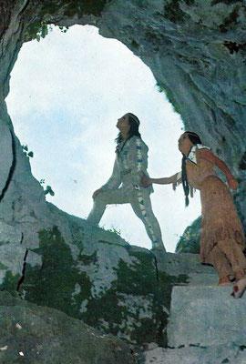 R 8 - Winnetou II - Pierre Brice und Karin Dor