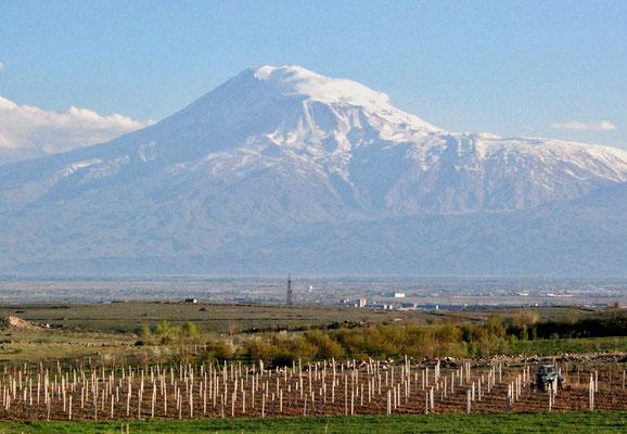 26. April 2017 - Frage an Radio Eriwan Ist der Berg Ararat das Wahrzeichen Armeniens - Antwort  Im Prinzip ja, doch er liegt in der Türkei