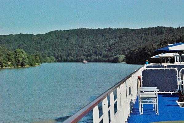 022 - Sogar die Donau ist blau