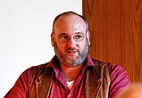Lorenz Hunziker, Leiter des Schweizer Karl May Freundeskreis, Jona (CH)