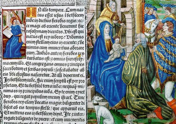 Lateinisches Stundenbuch. Paris Anfant 16. Jahrhundert (Stift Melk)
