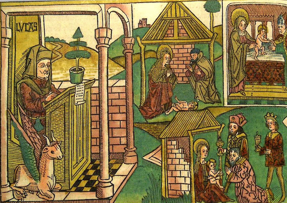 Biblia germanica. Band II. Nürnberg. Anton Koberger 1483 (Stift Melk)