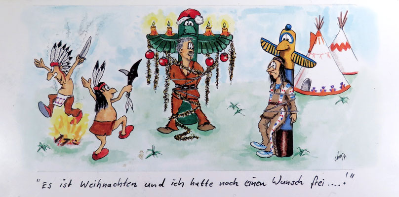 Dank und Weihnachtswünsche Karl-May-Haus