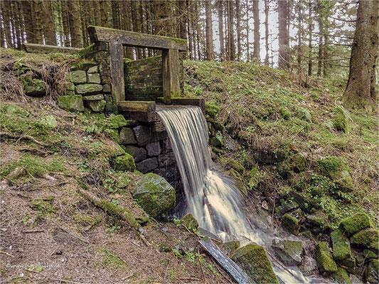 viel Wasser unterwegs ... Fehlschlag am Zellerfelder Kunstgraben
