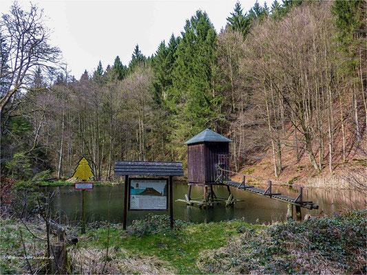 Striegelhaus am Schlackentaler Teich ... zwischen Lautenthal und Seesen