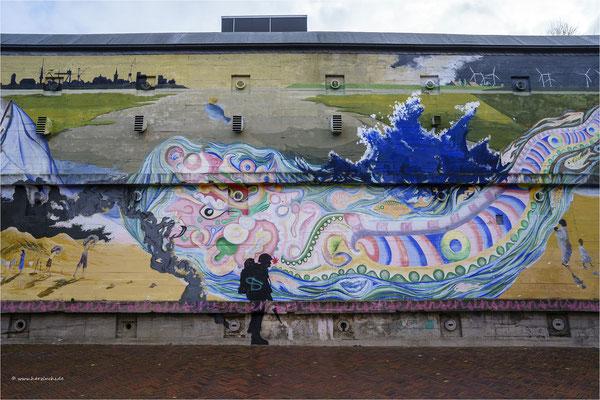 Bunkermalerei in Emden