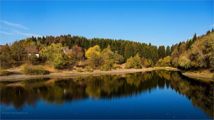 Herbst im Harz ... am oberen Eschenbacher Teich
