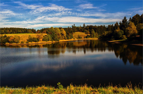 jetzt kommt die bunte Jahreszeit ,,, am unteren Eschenbacher Teich