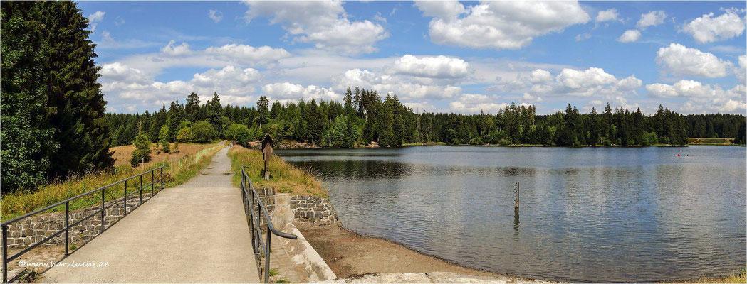 der Ziegenberger Teich ... hier nochmal von der anderen Seite