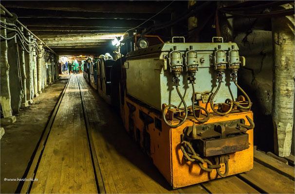 nochmal was von unter Tage ... aufgenommen im Röhrigschacht in Wettelrode, ein ehemaliges Kupferschiefer-Bergwerk das heute ein Bergbaumuseum und Schaubergwerk ist.