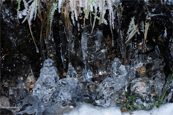 Eisstalagmiten