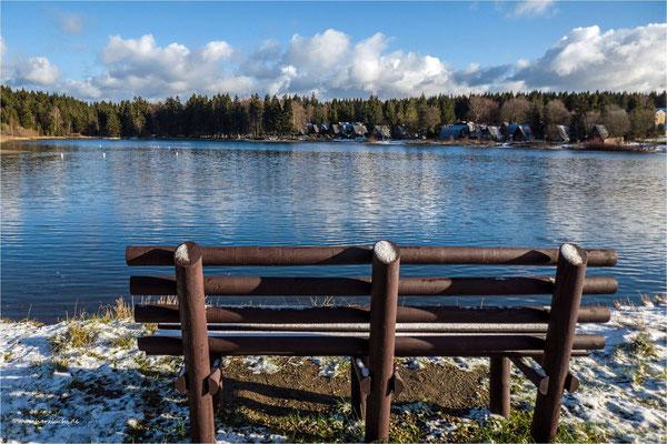 bei Sonnenschein sieht doch alles gleich viel besser aus ... am oberen Hausherzberger Teich in Clausthal-Zellerfeld