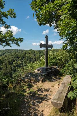 das Eiserne Kreuz an der Mägdetrappe