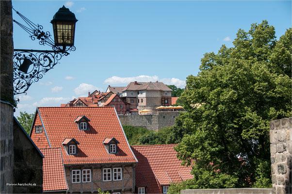 Blick vom Schlossberg auf den Münzberg