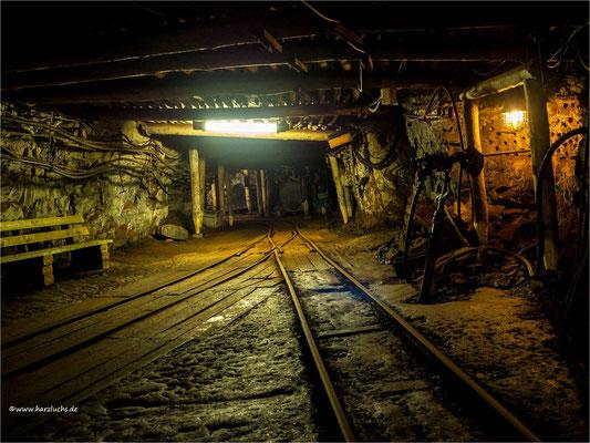 mal wieder was von Unter Tage ... im Röhrigschacht in Wettelrode, einem ehemaligen Kupferschiefer-Bergwerk das heute ein Bergbaumuseum und Schaubergwerk ist.
