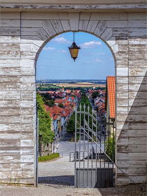 das Tor zur Stadt ... am Schloss in Ballenstedt