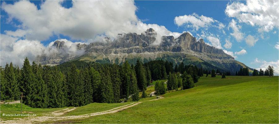Panorama vom Rosengarten