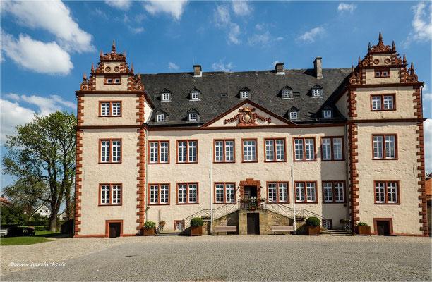das Schloss Salder ...