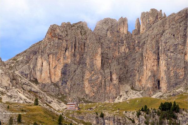 Blick zur Rotwandhütte
