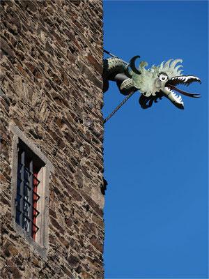 Wasserspeier auf der Burg Eltz