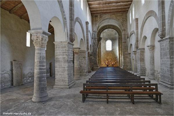 Innenansicht Klosterkirche in Drübeck