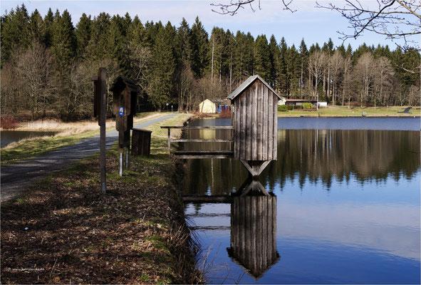 das Striegelhaus ... am oberen Hausherzberger Teich