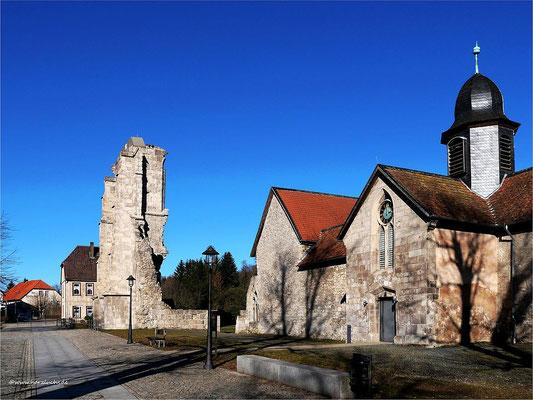 Außenansicht des ZisterzienserMuseum  Kloster Walkenried
