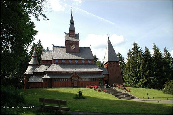 Gustav-Adolf-Stabkirche in Hahnenklee-Bockswiese