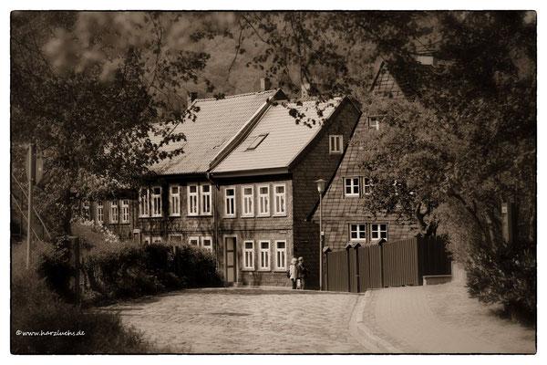 am Liebfrauenberg in Goslar, unterhalb der Kaiserpfalz