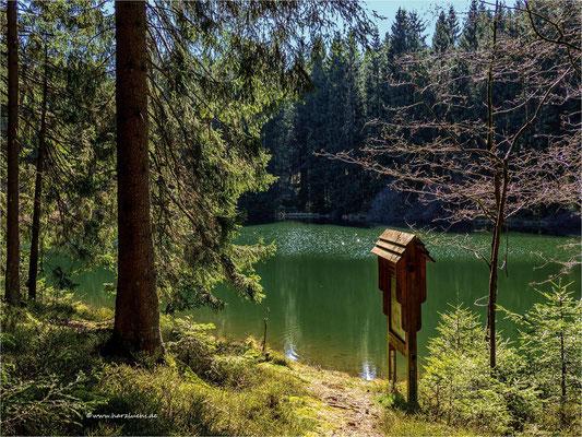 am mittleren Einersberger Teich ...
