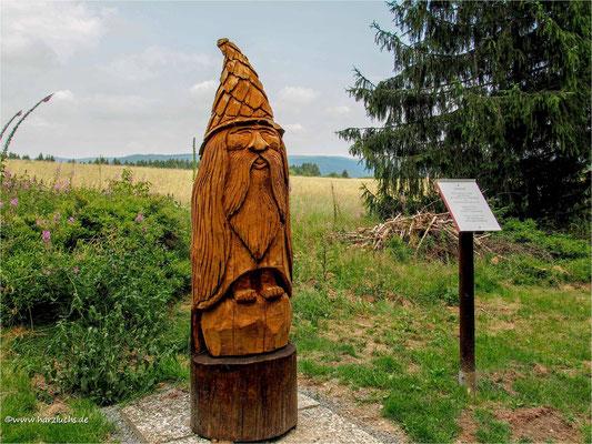 Wichtel im Stein- und Skulpturenpfad Schulenberg