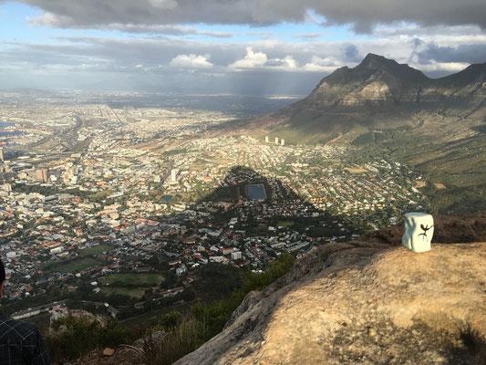 A Cape Town, en Afrique du Sud...