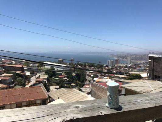 A Valparaiso, au Chili...