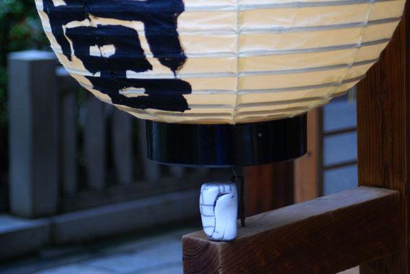 Dans un temple Shinto, à Kyoto...