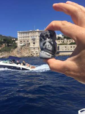 Au large de Monaco ...
