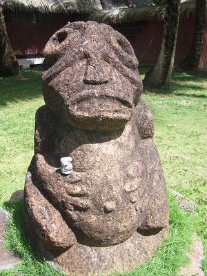 En Polynésie française, dans les bras d'un tiki...
