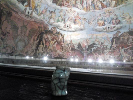 Sous la coupole, à Florence...