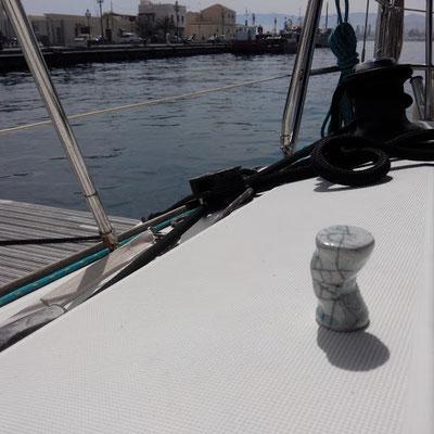 Dans le port de Milazzo en Sicile ...