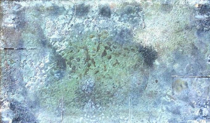 Plaque de terre émaillée et cuisson Anagama...