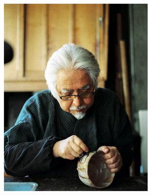 Showzi Tsukamoto, maître de Kintsugi (l'art de réparer la céramique à l'or 24 carats)