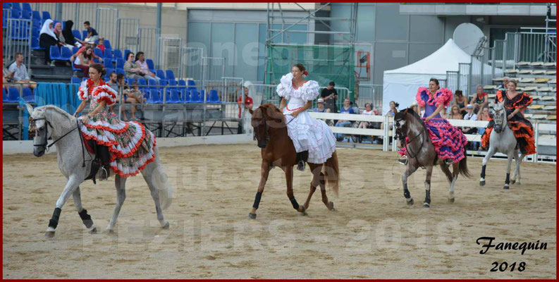 """Spectacle en Journée des """"Nuits Equestres"""" lors de la Féria de BEZIERS 2018 - 3"""