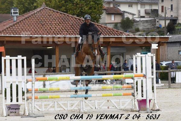 CSO de la société Hippique de CHALAMONT du Vendredi 18 Octobre 2019 - deuxième épreuve - 04