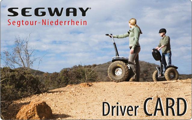 Die Segway DriverCard