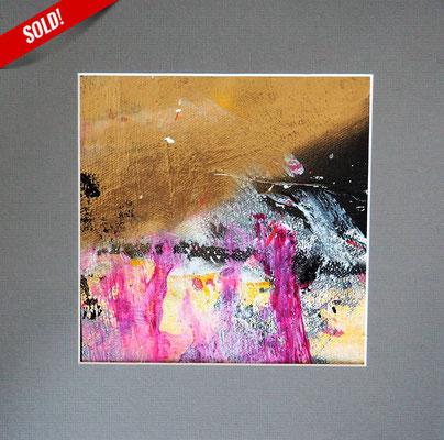 4. ECLIPSE, 20 x 20 cm, framed: 33 x 33 cm