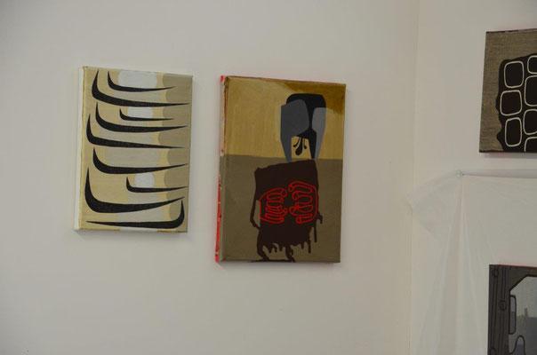 Works from the artist David Storey, photo: Reinhold Ponesch ©