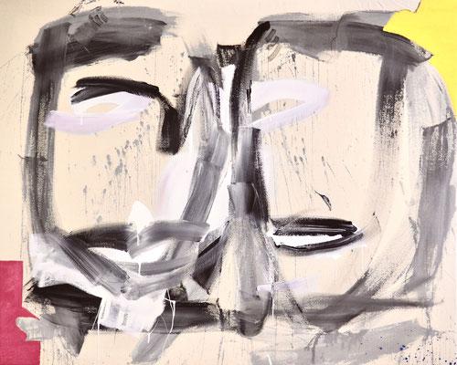 YOU AND I, 120x150 cm, oil, acrylic on canvas, VIENNA, 2020, Photo Reinhold Ponesch ©