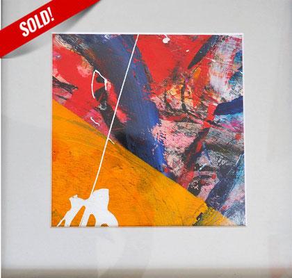26. UNIVERSE, 20 x 20 cm, framed: 33 x 33 cm