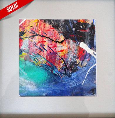 10. NATURE, 20 x 20 cm, framed: 33 x 33 cm
