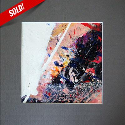 5. FLORETT, 20 x 20 cm, framed: 33 x 33 cm
